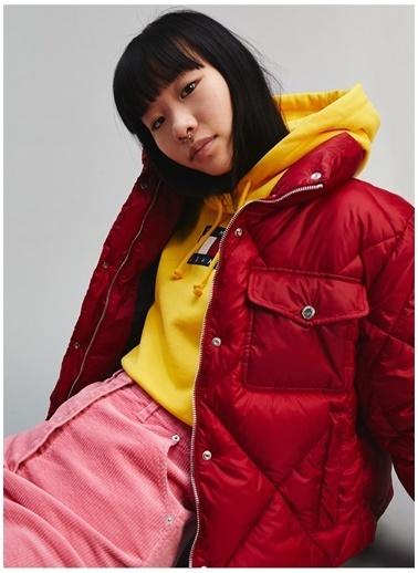 Tommy Jeans Ceket Kırmızı